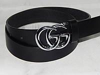 Ремень женский кожаный Gucci ширина 30 мм. 930556