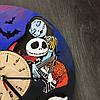 Часы настенные цветные из дерева 7Arts Кошмар перед Рождеством CL-0068, фото 3