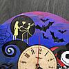Часы настенные цветные из дерева 7Arts Кошмар перед Рождеством CL-0068, фото 5