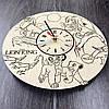 Детские настенные часы из дерева 7Arts Король Лев CL-0093, фото 2