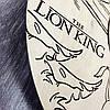 Детские настенные часы из дерева 7Arts Король Лев CL-0093, фото 3
