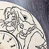 Детские настенные часы из дерева 7Arts Король Лев CL-0093, фото 5