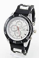 Мужские наручные часы Emporio Armani, Армани стальные с серебристым циферблатом ( код: IBW081BS )