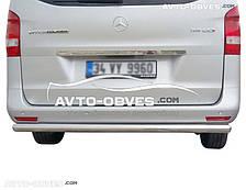 Защита заднего бампера Mercedes-Benz V-klass W447 / Vito III, Турция