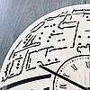 Настенные часы ручной работы из дерева 7Arts Звезда смерти CL-0104, фото 4