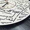 Настенные часы ручной работы из дерева 7Arts Звезда смерти CL-0104, фото 5