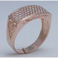 Золотое кольцо с камнем 305400