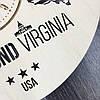 Интерьерные часы на стену 7Arts Ричмонд, Вирджиния CL-0109, фото 3