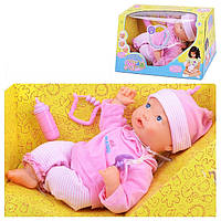 Кукла пупс с мимикой baby born Мила 5260: 5 функций и аксессуары