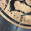 Часы из дерева на стену 7Arts Тигр CL-0119, фото 4
