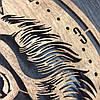 Часы из дерева на стену 7Arts Тигр CL-0119, фото 5