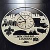 Интерьерные часы на стену 7Arts Новый Орлеан, Луизиана CL-0120, фото 2