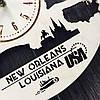 Интерьерные часы на стену 7Arts Новый Орлеан, Луизиана CL-0120, фото 4