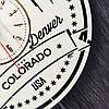 Часы настенные большие 7Arts Денвер, Колорадо CL-0123, фото 5