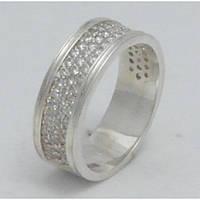 Серебряное обручальное  кольцо Н1041С