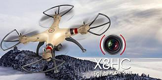 Syma X8HC - квадракоптер з камерою і барометром