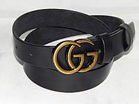 Ремень женский кожаный Gucci ширина 30 мм. 930558