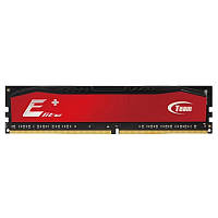 Модуль памяти DDR3 4GB/1600 Team Elite Plus Red (TPRD34G1600HC1101)