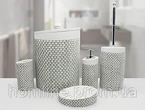 Комплект в ванную Irya Wall ekru кремовый (5 предметов)