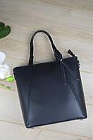 Черная сумка Leather Coutry 3602