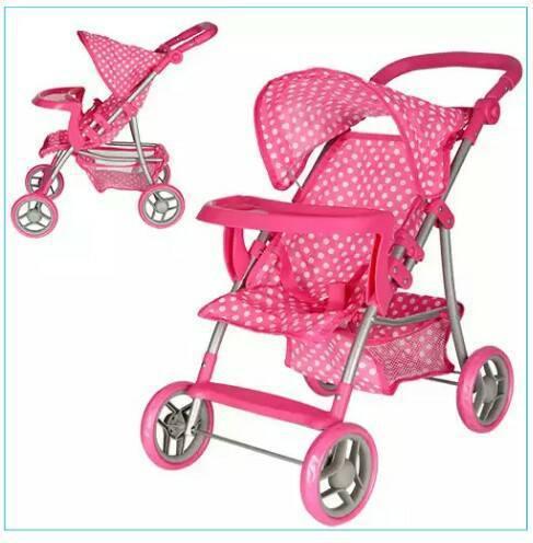 Детская коляска для кукол Melogo 9366 T/018