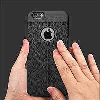 Силиконовый чехол для iPhone 6/6S/7  черный