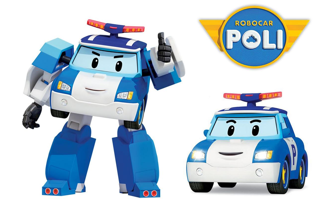 Игрушка трансформер Robocar Poli 83168-1