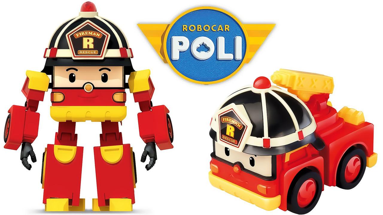 Игрушка трансформер Robocar Roy 83168-4