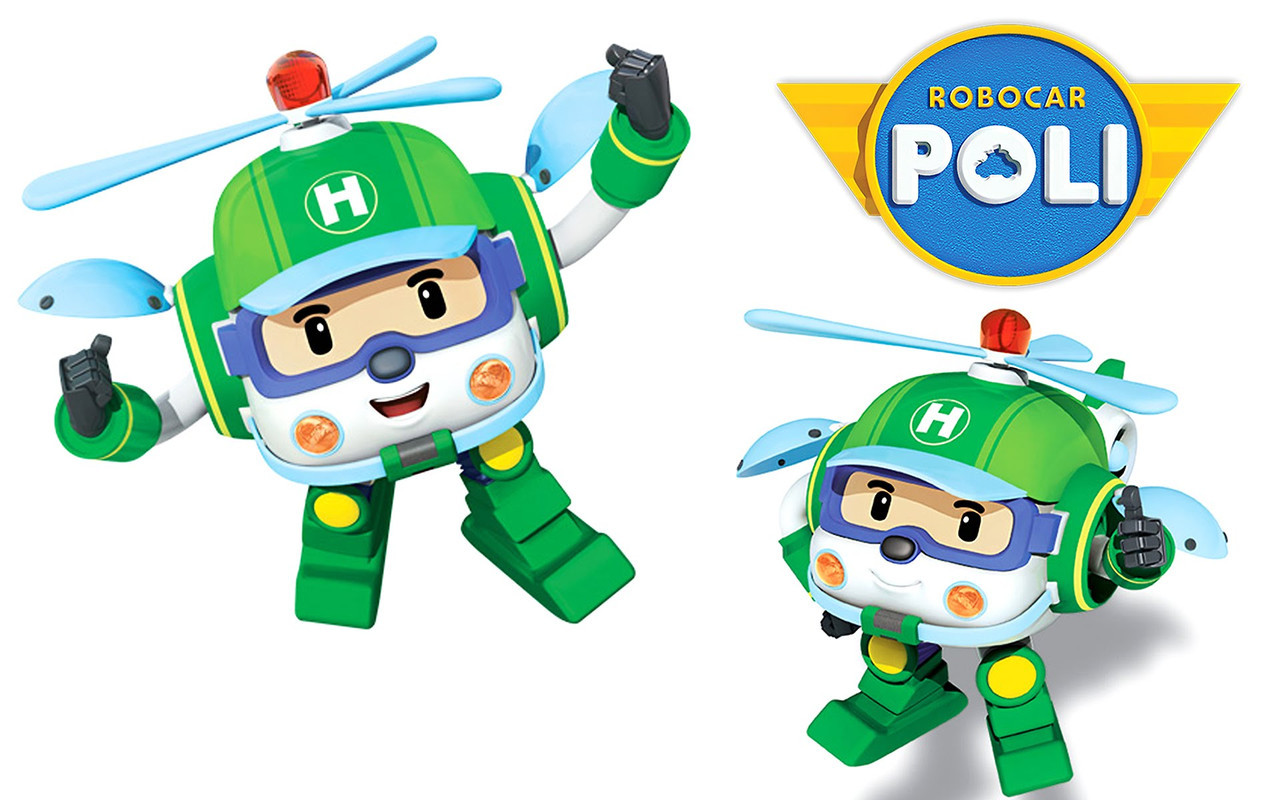 Игрушка трансформер Robocar Helly 83168-3