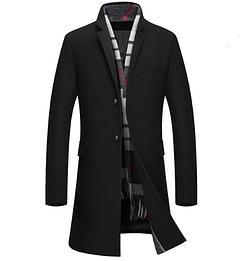 Мужское весеннее пальто. Модель 61770