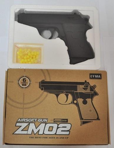Пистолет ZM 02 металлический