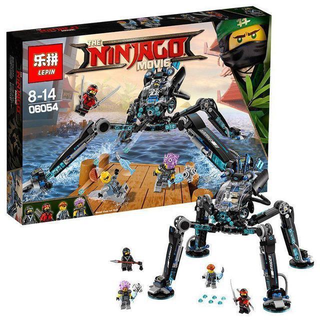 Конструктор Ninjago Movie Lepin 06054 Водяной Робот 528 дет