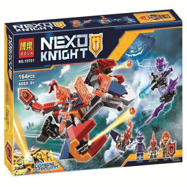 Конструктор Bela 10701 Nexo Knight Дракон Мэйси 164 дет