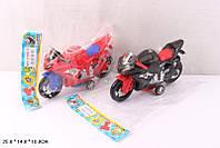 Мотоцикл инерц. 2 вида, в п/э 25*14*10см /126-2/