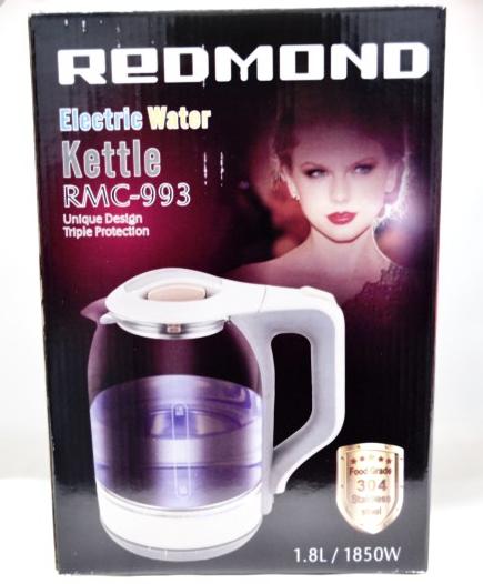 Стеклянный электрический чайник Redmond RMC-993