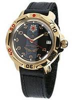 Мужские механические наручные командирские часы Восток с ручным заводом  30 Морская пехота