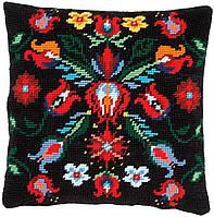 """Набор для вышивания гобеленовой подушки Vervaco """"Folklore"""""""