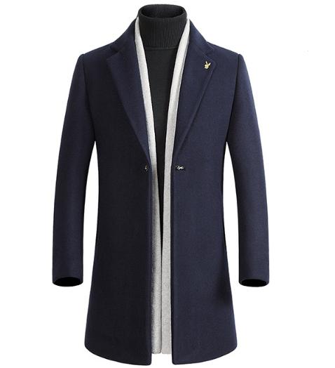 Мужское весеннее пальто. Модель 61771