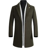 Мужское весеннее пальто. Модель 61771, фото 4