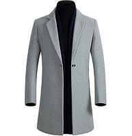 Мужское весеннее пальто. Модель 61771, фото 6