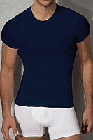 Мужская футболка синяя приталенная Doreanse 2535 S