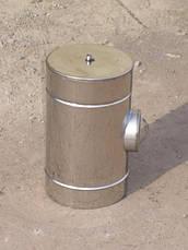 Ревизия для дымохода из нержавеющей стали в оцинкованном кожухе, фото 3