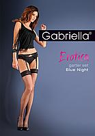 Чулки с поясом Blue Night Gabriella
