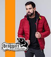 Braggart 1255 | Мужская весенне-осенняя ветровка красный