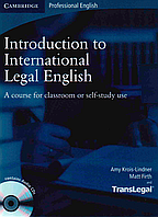 Introduction to International Legal English Student's Book with Audio (+CD)