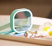 Мини зеркало с подсветкой для макияжа