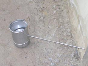 Регулятор тяги для дымохода из нержавеющей стали в оцинковке, фото 3