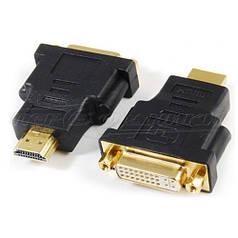 Переходник HDMI (M) - DVI  (24+5) (F)
