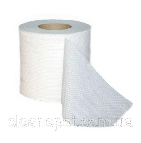 Туалетная бумага белая двухслойная