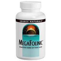 Мегафолинин, Source Naturals,   800 мкг, 120 таблекток